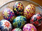 برچسب جادویی تخم مرغ رنگی عید نوروز با طرح های فوق العاده