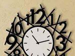 ساعت دیواری طرح زمان لوکس و جدید و شیک
