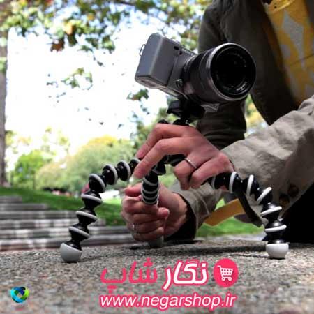 پایه دوربین , پایه دوربین عکاسی , پایه دوربین فیلمبرداری , پایه دوربین اختاپوسی , پایه دوربین عکاسی اختاپوسی , پایه دوربین ارزان
