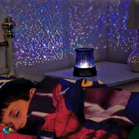 چراغ خواب , چراغ خواب موزیکال , چراغ خواب موزیکال ستاره , چراغ خواب موزیکال طرح ستاره , چراغ خواب رنگی