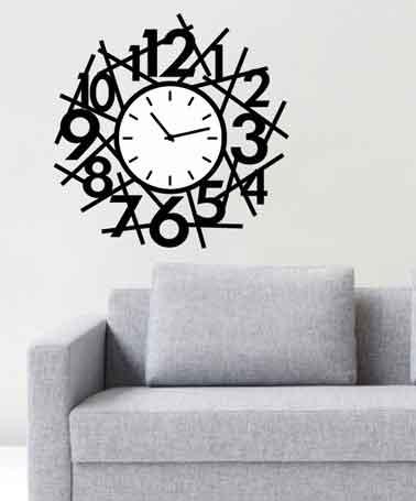 ساعت زمان , ساعت دیواری زمان , ساعت دیواری , ساعت دیواری طرح زمان , ساعت دیواری فانتزی , ساعت دیواری شیک , ساعت دیواری مدرن , ساعت دیواری جدید , ساعت , ساعت دیواری لوکس
