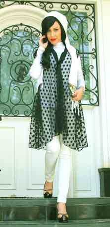 مدل سارافن جلوباز شیک با پارچه حریر فروشگاه اینترنتی نگارشاپ: سارافون طرح سامانتا با طراحی ...