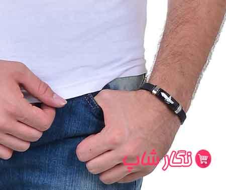دستبند فروهر , دستبند فروهر مردانه , دستبند مردانه فروهر , دستبند فروهر چرم , دستبند چرم فروهر , دستبند چرم مردانه