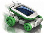 ربات خورشیدی ۶ کاره بهترین وسیله برای سرگرمی کودکان