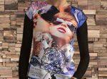 تی شرت طرح دار دخترانه مدل Madona بسیار فانتزی و شیک