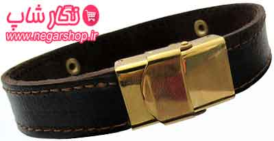 دستبند چرم طرح خدا , دستبند چرم , دستبند چرمی