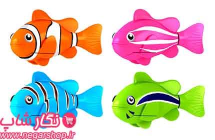 ماهی , ماهی رباتیک , ماهی رباتیک جینو , ماهی ربات , ماهی باتری خور