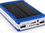 پاور بانک خورشیدی ۲۰۰۰۰ سولار با قابلیت شارژ همزمان دو دستگاه