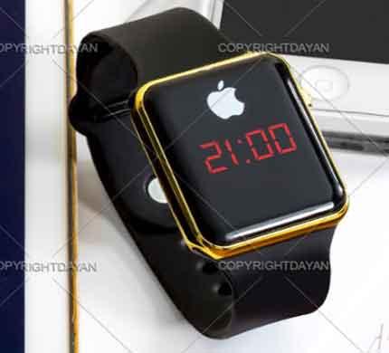 ساعت , ساعت led , ساعت led طرح اپل واچ , ساعت اپل واچ , ساعت ال ای دی , ساعت led اپل واچ