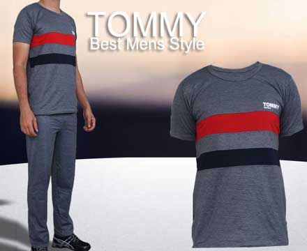 ست تی شرت و شلوار , تی شرت اسپرت , تی شرت مردانه , تیشرت , تی شرت , شلوار , شلوار مردانه , شلوار اسپرت , تی شرت و شلوار tommy