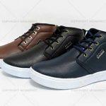 کفش نیم بوت اکو با رویه چرم و طراحی شیک ویژه مردان شیک پوش