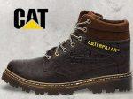 کفش نیم بوت مردانه کت CAT با کیفیت چرم بالا و طراحی منحصر به فرد
