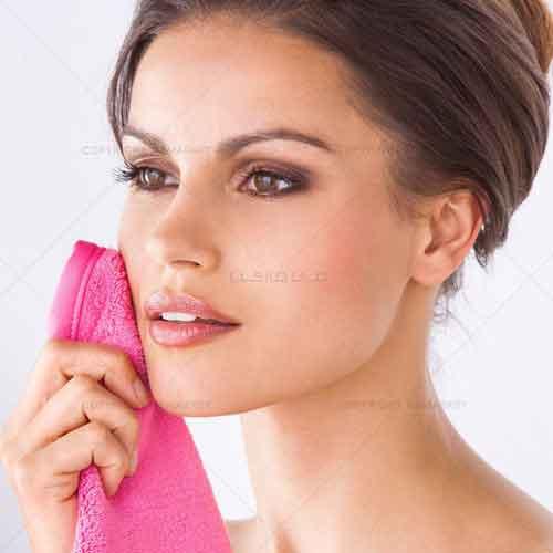 حوله , حوله پاک کننده آرایش , آرایش پاک کن , پاک کننده آرایش صورت