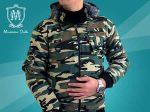 کاپشن طرح ارتشی ماسیمو دوتی دارای لایه پشمی بسیار مناسب برای روزهای سرد