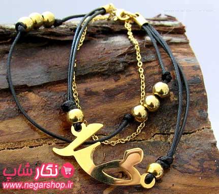 دستبند طرح خدا , دستبند خدا , دستبند چرم طرح خدا , دستبند چرم خدا , دستبند چرمی خدا , دستبند استیل طرح خدا , دستبند طلایی طرح خدا
