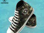 کفش آل استار مردانه طرح ارتشی یک انتخاب ایده آل برای مردان خوش سلیقه و شیک پوش