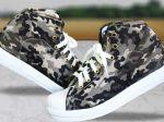 کفش ارتشی دخترانه Army با طراحی مدرن و شیک انتخابی ایده آل برای خانم های شیک پوش