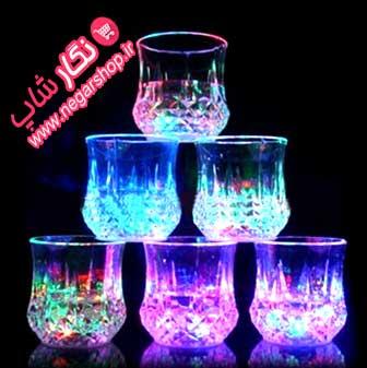 لیوان چراغدار , لیوان چراغ دار , لیوان ال ای دی , لیوان جادویی چراغدار , لیوان جادوئی , لیوان جادویی چراغ دار