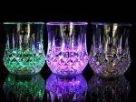 لیوان چراغدار جادویی با ال ای دی هفت رنگ فوق العاده شیک و زیبا
