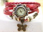 ساعت مچی الیزابت رنگ قرمز با کیفیت مثال زدنی و طراحی خیره کننده و زیبا
