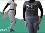 ست نیم تنه و شلوار CHIC یک انتخاب ایده آل برای خانم های شیک پوش و خوش سلیقه