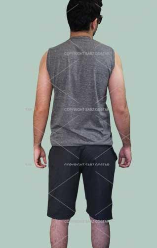 رکابی و شلوارک , ست شلوارک و رکابی مردانه , ست رکابی و شلوارک ورزشی مردانه