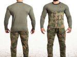 تیشرت و شلوار ارتشی مردانه یک انتخاب بسیار مناسب برای آقایان شیک پوش