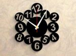 ساعت دیواری طرح آیسانا با کیفیت بسیار عالی و طراحی شیک و مدرن