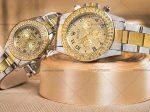 ست ساعت مچی زنانه و مردانه Rolex ویژه زوج های شیک پوش و خوش سلیقه