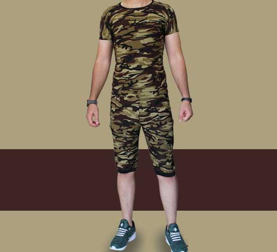 تیشرت و شلوارک مردانه , تیشرت و شلوارک مردانه ارتشی , تیشرت و شلوارک , تیشرت و شلوارک پسرانه , تی شرت و شلوارک مردانه , تیشرت و شلوارک طرح چریکی