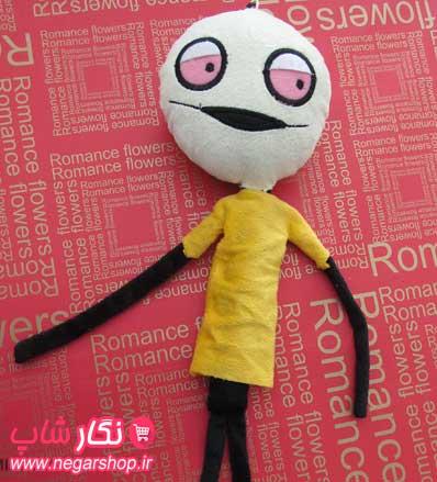 عروسک فانتزی , عروسک فانتزی یوبرو , عروسک آویز , عروسک مخملی