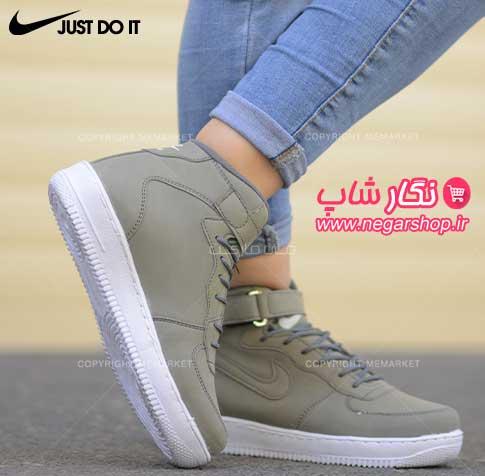 کفش ساق بلند اسپرت , کفش ساق دار دخترانه نایک , کفش ساق دار , کفش اسپرت ساق بلند دخترانه , کفش ساق دار زنانه