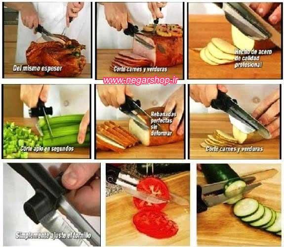 چاقو برش زن , چاقو برش زن DeliPro , چاقو آشپزخانه , چاقو برش کیک , چاقوی برش زن ,
