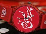 ساعت مچی پرسپولیس دارای لوگوی پرسپولیس بر روی بند ساعت فوق العاده شیک و زیبا