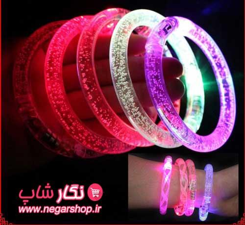 دستبند ال ای دی , دستبند ال ای دی چراغدار , دستبند ال ای دی اسپرت , دستبند LED , دستبد نورانی