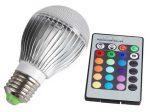 لامپ ریموت دار LED باقابلیت تغییر نور لامپ در حالت های مختلف از طریق کنترل از راه دور