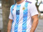 لباس جام جهانی آرژانتین بسیار شیک و زیبا ویژه علاقه مندان به فوتبال
