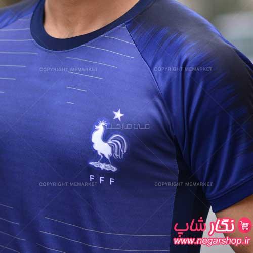لباس جام جهانی فرانسه , تی شرت جام جهانی تیم ملی فرانسه , لباس فرانسه , لباس ورزشی تیم فرانسه , لباس جدید تیم ملی فرانسه