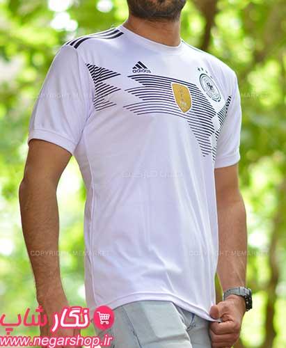 لباس جام جهانی آلمان , لباس جام جهانی , لباس جام جهانی تیم ملی آلمان , لباس ورزشی تیم آلمان , لباس تیم فوتبال آلمان , لباس جدید تیم ملی آلمان
