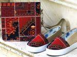 کیف کفش ست طرح سنتی HANA آمیخته ای از ظرافت و هنر ایرانی
