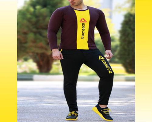 تیشرت شلوار مردانه , ست تیشرت و شلوار پسرانه , ست تیشرت شلوار مردانه Reebok مدل Adli , ست بلوز و شلوار مردانه , تیشرت شلوار مردانه ورزشی , ست لباس مردانه , ست تیشرت و شلوار مردانه