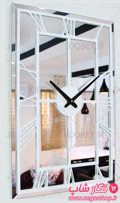 ساعت دیواری آینه ای برلیان , ساعت دیواری آینه برلیان , ساعت دیواری آینه ای , ساعت دیواری آینه ای , ساعت دیواری مستطیلی , ساعت آینه دار , ساعت دیواری لاکچری , ساعت دیواری آینه ایی