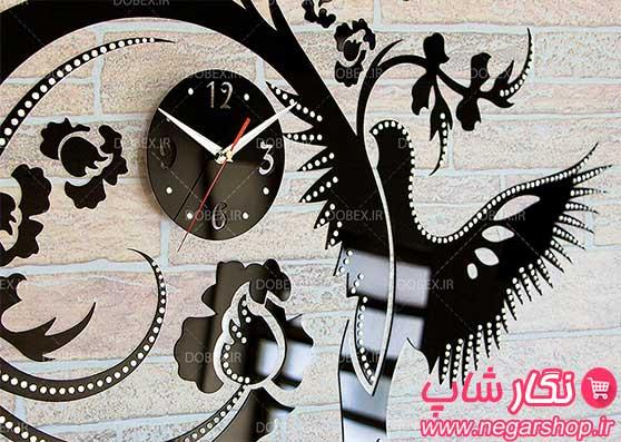 ساعت دیواری سیمرغ , ساعت دیواری , ساعت سیمرغ , ساعت دیواری فانتزی سیمرغ