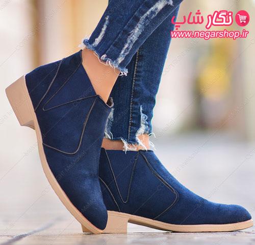 کفش دخترانه نیم بوت , کفش نیم بوت , کفش دخترانه بوت , کفش زنانه نیم بوت , کفش دخترانه ساق دار , کفش ساق بلند زنانه