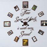 ساعت دیواری قاب عکسی Family بسیار شیک با طراحی مدرن و جدید