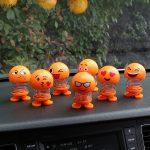 عروسک ایموجی فنری قابل استفاده در خودرو، میز کار، کمد، دکور و …
