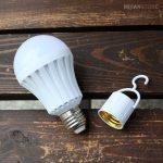 لامپ جادویی سیار با قابلیت روشن شدن از سه طریق دست، آب و سرپیچ