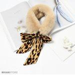 شال گردن خزدار زنانه جادویی بسیار سبک و گرم مناسب فصل پاییز و زمستان