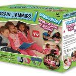 پکیج نقاشی روی لباس Draw Jammies با قابلیت پاک شدن پس از شسته شدن لباس