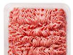 گوشت چرخ کرده مخلوط بسته یک کیلوگرمی تشکیل شده از گوشت گوساله۹۲% و گوشت گوسفند ۸%